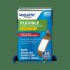 Equate Adhesive Bandages Flexible, Antibacterial, Natural, 30 Ct