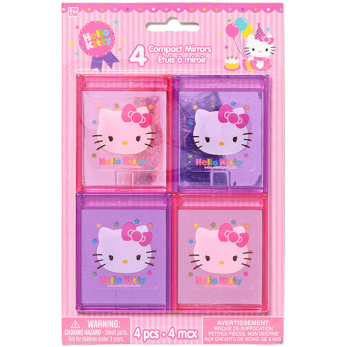 Hello Kitty Party Favor Mirrors, Party Supplies
