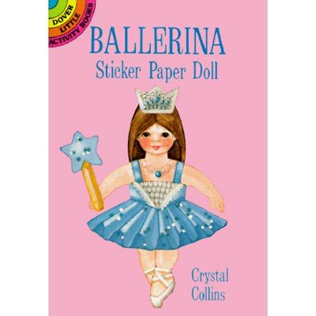 Ballerina Sticker Paper Doll (Ballerina Paper)