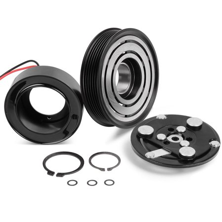 A/C AC Compressor Clutch Pulley Coil Kit for 1994-02 Dodge Dakota/ Dodge Durango/ Ram 1500 2500 3500 (Dodge Ram 2500 Halos)