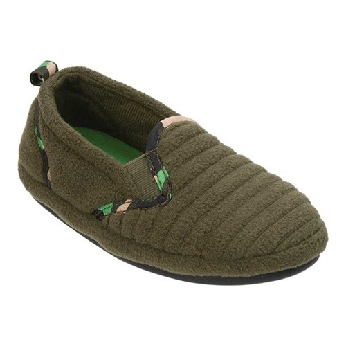 Boys' Dearfoams Camo Closed Back Slipper