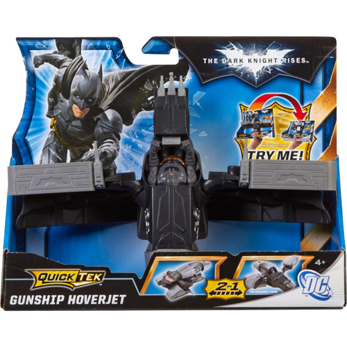 Batman The Dark Knight Rises QuickTek Gunship Hoverjet