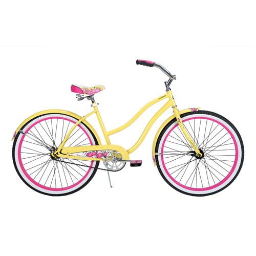 """26"""" Huffy Cranbrook Women's Bike, Banana Yellow"""