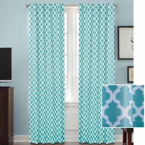 Better Homes And Gardens Tangier Room Darkening Curtain Panel Rod Pocket
