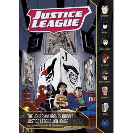 Justice League: The Joker and Harley Quinn's Justice League Jailhouse (Paperback) - The Joker And Harley Quinn Costume