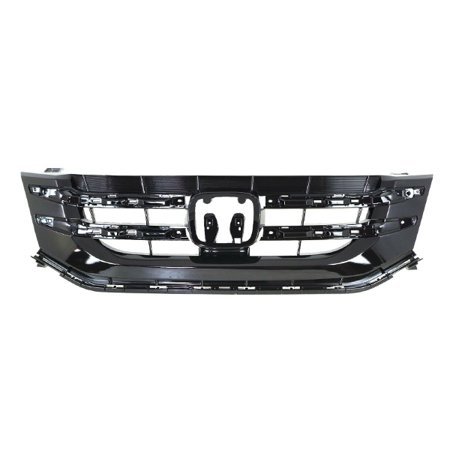 For 14-17 Odyssey Van 3.5L V6 Front Face Bar Grill Grille Assembly Black Plastic
