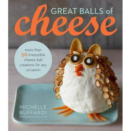 Great Balls of Cheese - Halloween Brain Cheese Ball