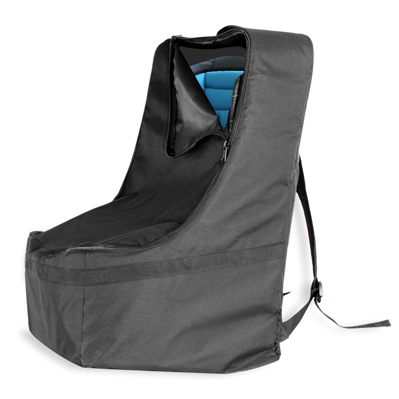 KHOMO GEAR Car Seat Travel Bag Black Universal