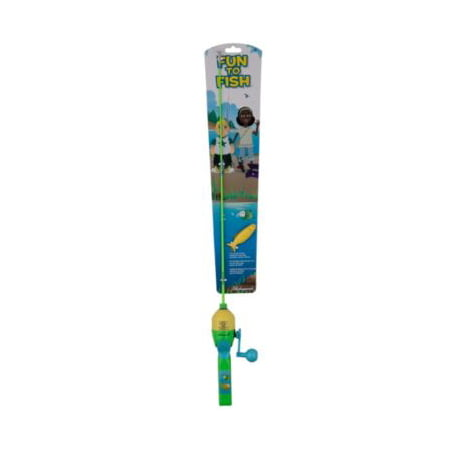Shakespeare Kids Fun Spincast Reel and Fishing Rod Kit
