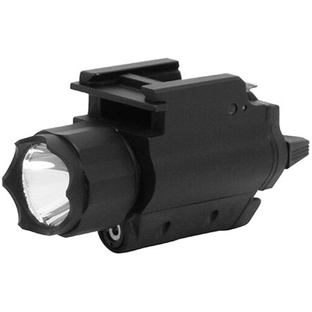 NcStar AQPFLS Red Laser Sight and 3W 120 Lumens LED Flashlight