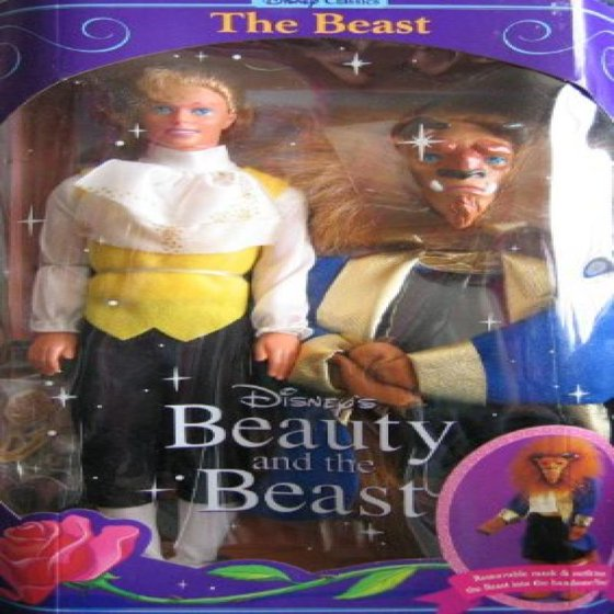 A Great Variety Of Models beast And Beauty Vintage Beauty And The Beast Dolls