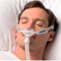 NuancePro Gel Nasal Pillow Fit-Pack (S,M,L included, Gel Frame) CPAP Mask with Headgear (No Tax) by Philips Respironics - Free 2 Day Shipping!!!