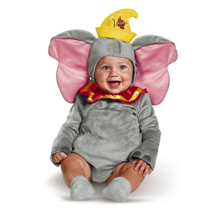 Dumbo Deluxe Infant Costume - Homemade Costumes For Infants
