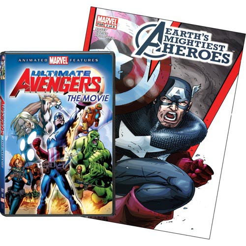 Ultimate Avengers (Exclusive) With Comic Book (Widescreen)
