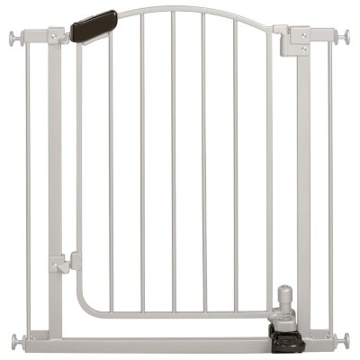Summer Infant Step to Open Gate Silver (Baby Safety Gates) by Summer Infant