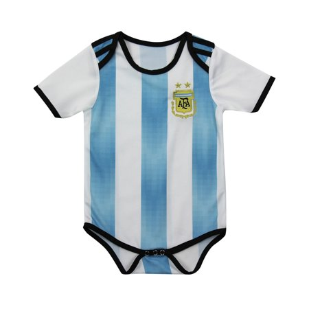 info for 848b6 5aa3b Argentina National Soccer Team Jersey Baby Bodysuit Traje ...