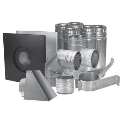 England's Stove AC-3000 Through-the-Wall Pellet Stove Exhaust Vent Kit, 3-In. by ENGLAND'S STOVE