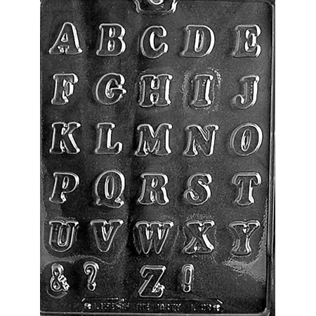Party Names (Letters Alphabet Itallics School Name Party Favors Chocolate Mold Mould Candy Soap)