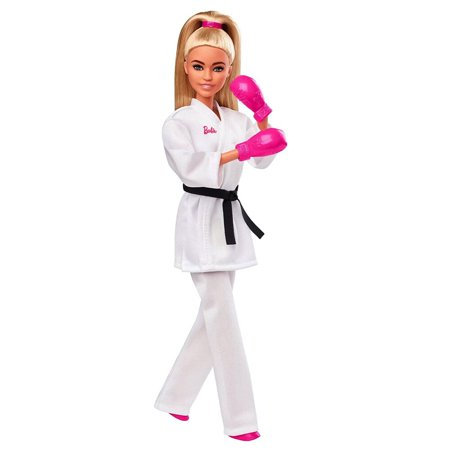 Barbie Olympic Games Tokyo 2020 Karate Doll And Accessories