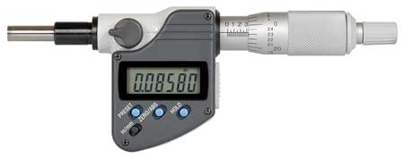 """MITUTOYO 293-349-30 Electronic Micrometer,0 to 1/"""",0.0001/"""""""