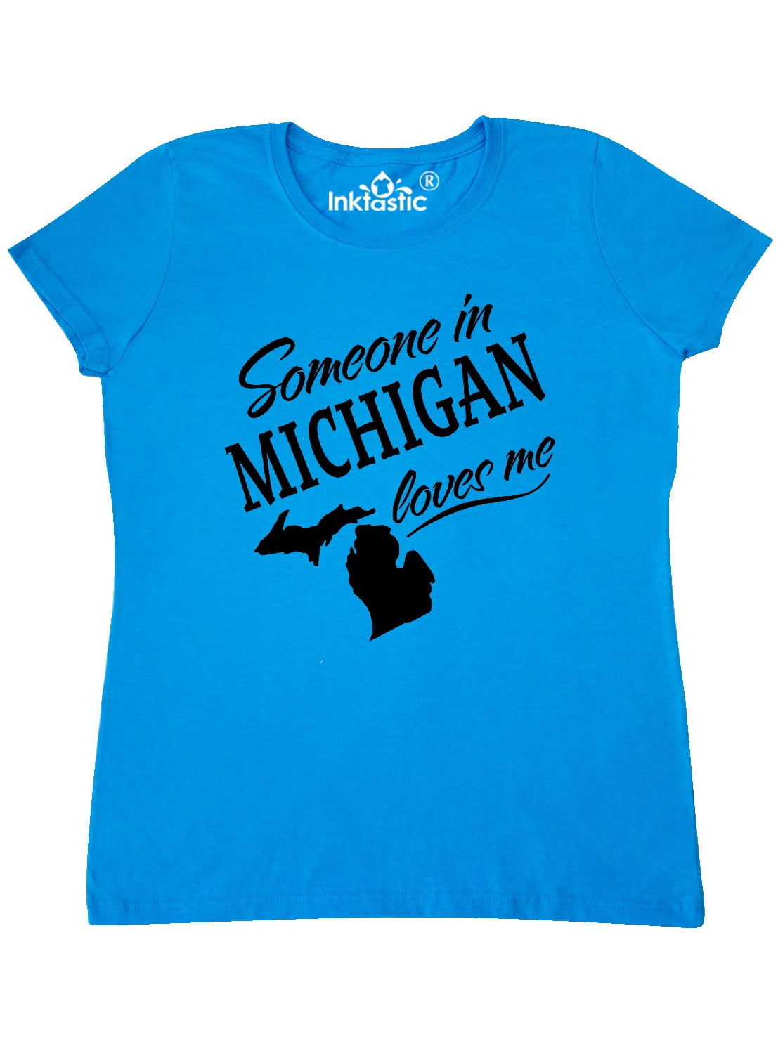 inktastic Someone in Michigan Loves Me Baby T-Shirt