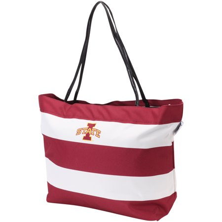 Iowa State Cyclones Game - Iowa State Cyclones Game Day Rugby Striped Tote Bag - No Size