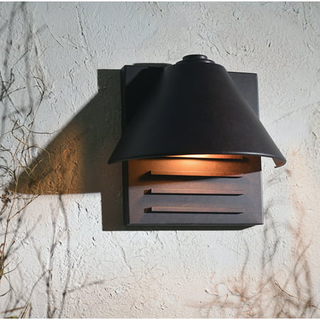 Copper Outdoor Wall Light - Kenroy Home 10160COP Fairbanks Outdoor Small Wall Lantern - 9H in. Copper Finish