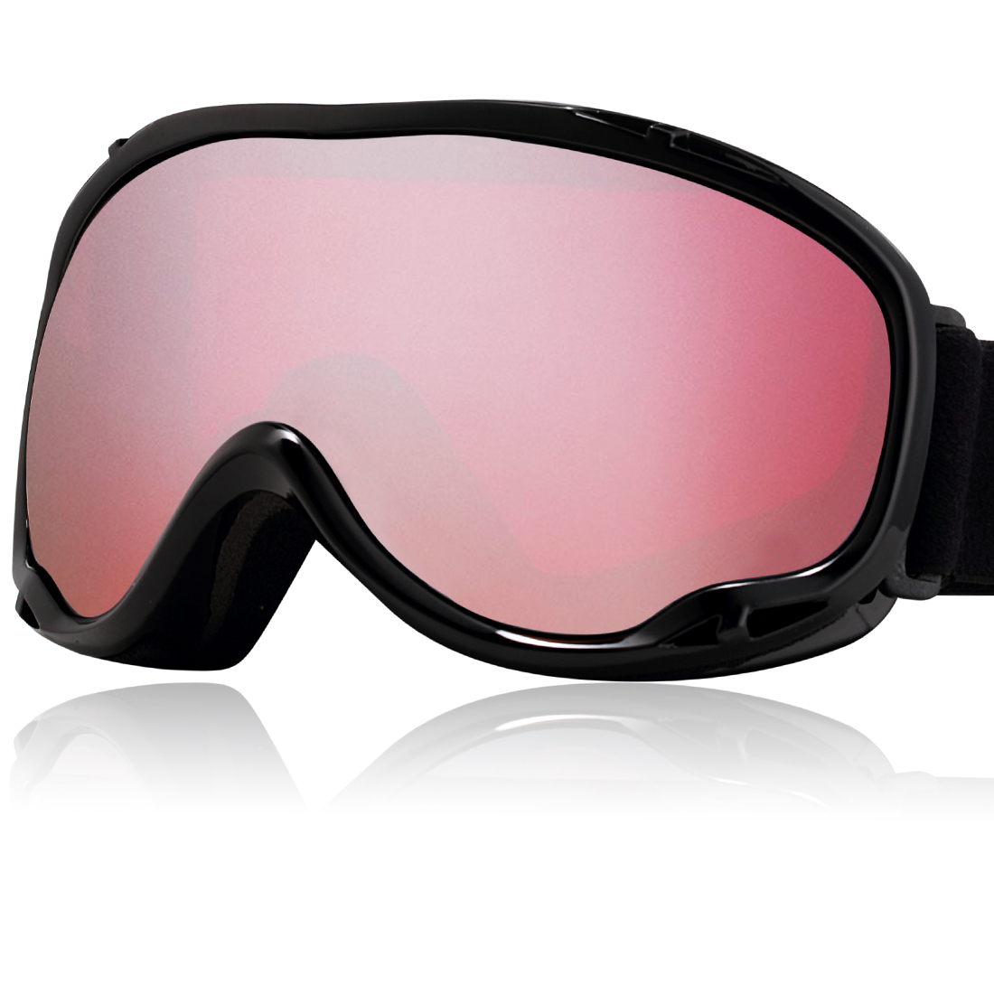 Uxcell Ski Snowboard Goggles UV400 Protect Anti-fog Glasses Men Women by