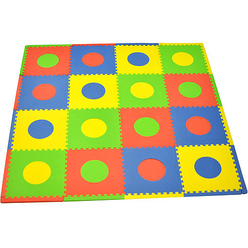 Seed Sprout Circles 16pc Playmat Set