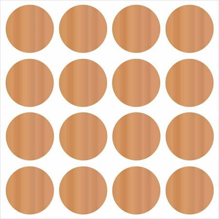WallPops Copper Confetti Dots (Confetti Blown Glass)