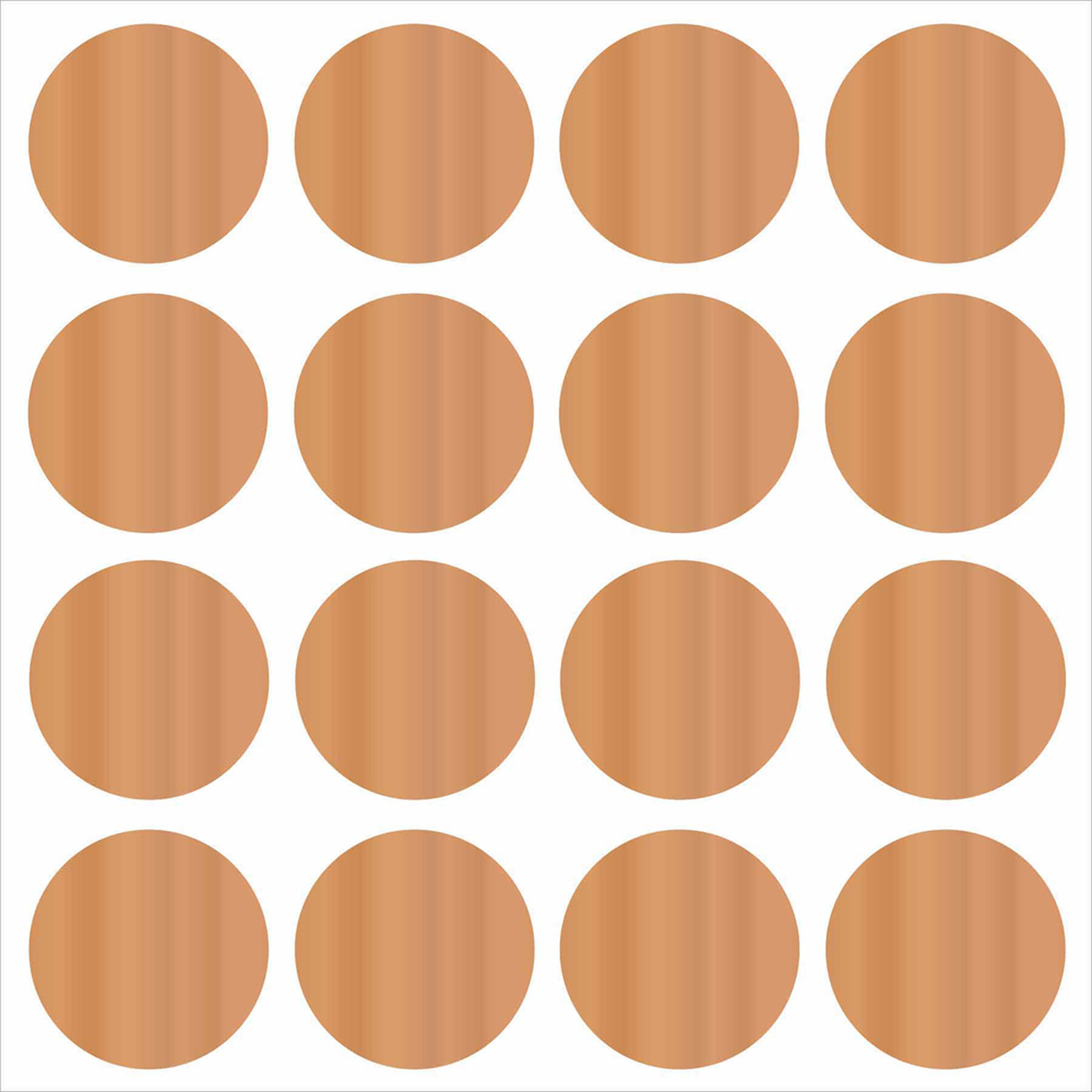 Wall Pops Copper Confetti Dots Decals