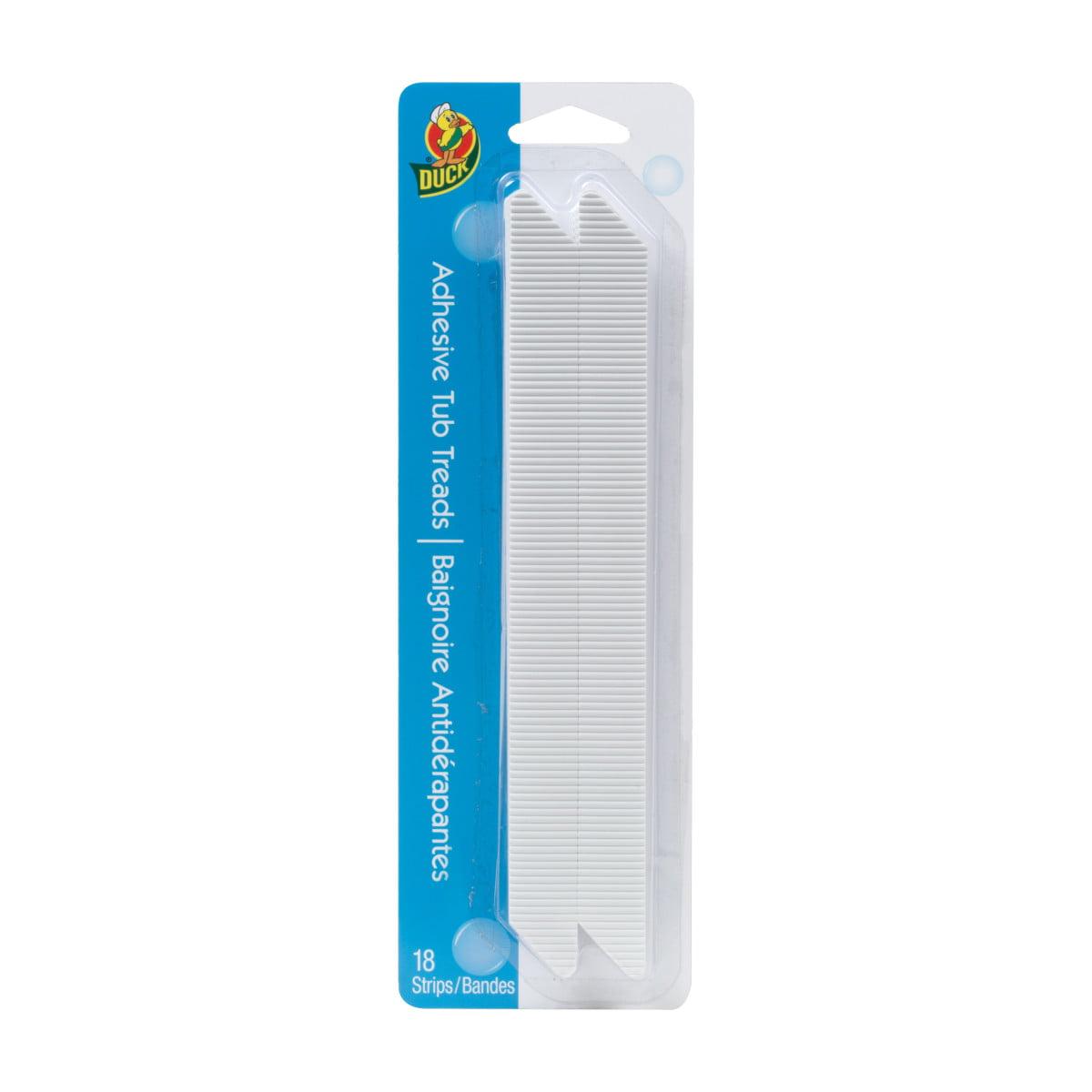Duck  White  Shower and Bath Treads  Polyurethane  8.75 in L H x 8.75 in