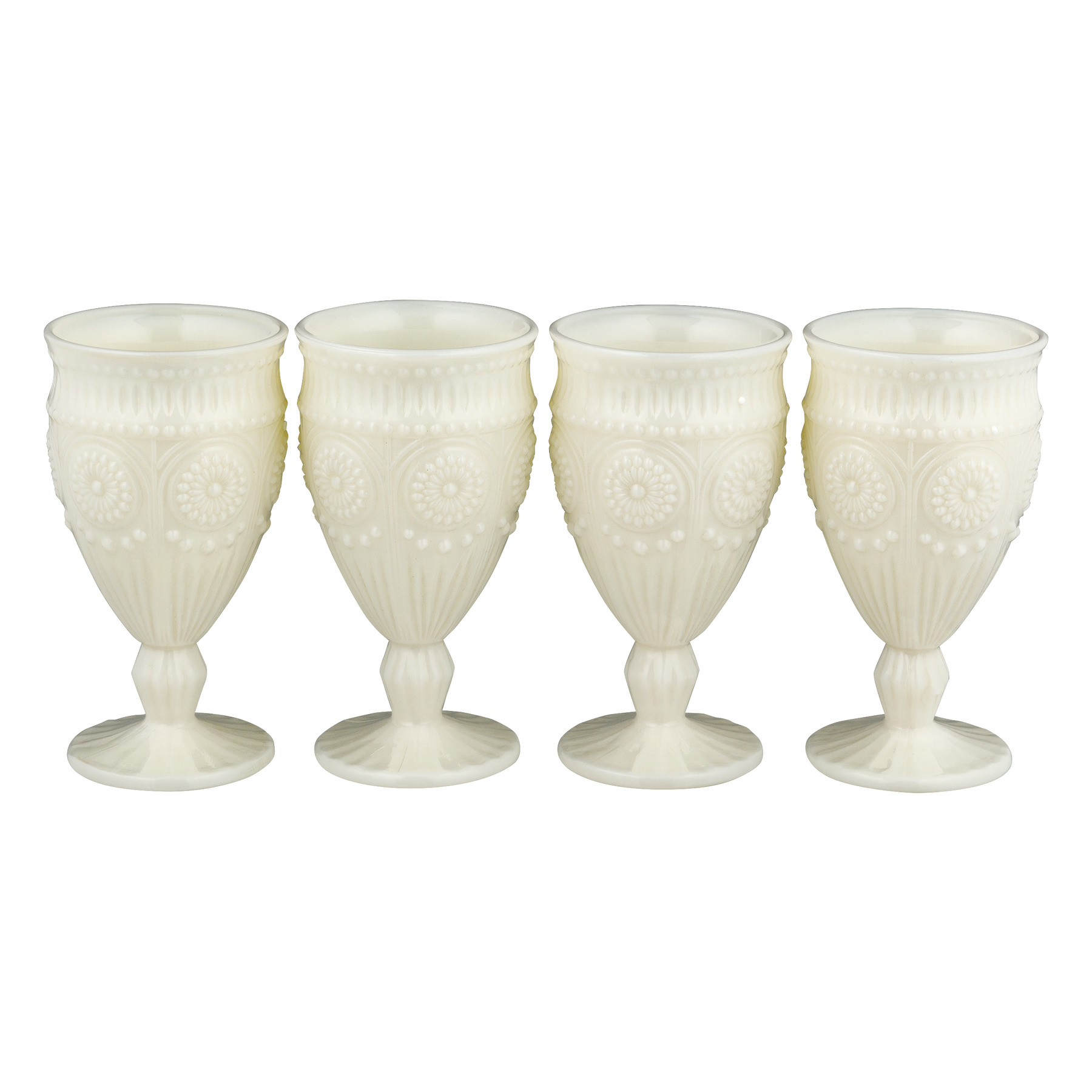 The Pioneer Woman Adeline Goblet Set White - 4 PK, 4.0 PACK