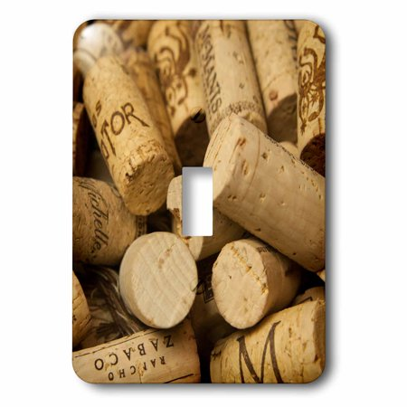 3dRose Close-up of a pile of wine cork collection - Single Toggle (Single Piles And Pile Groups Under Lateral Loading)