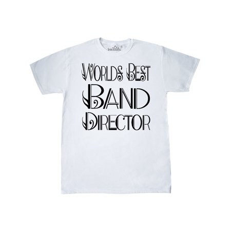World's Best Band Director Gift T-Shirt