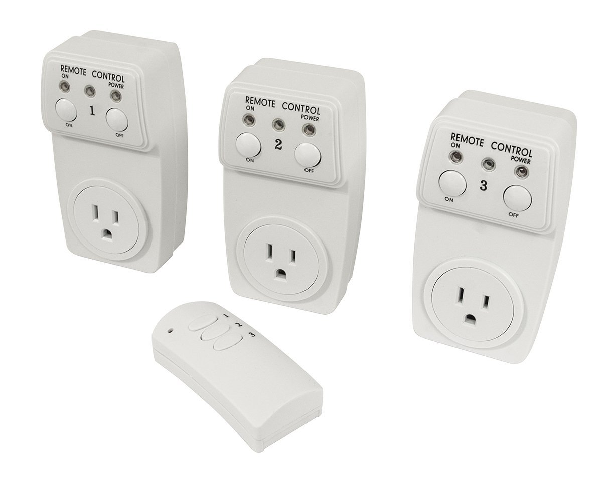 Useful. UH-RP159 Remote Controlled Electrical Plug & Outlet   Wireless Electrical Switch... by Useful.