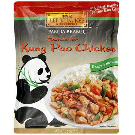 Lee Kum Kee Panda Brand Kung Pao Chicken Sauce, 8 oz (Pack of