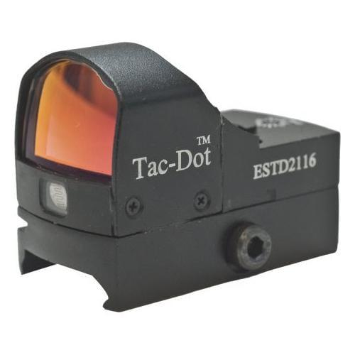 Leatherwood Hi-Lux Optics Tac-Dot 21X16Mm Tactical Red Dot Sight W/Integral Moun