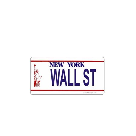 Design It Yourself Custom New York Plate. Free Personalization on
