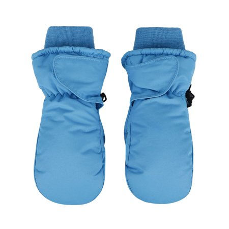 SimpliKids Children's Snow Sports 3M Thinsulate Waterproof Winter Ski Mittens,S,Blue