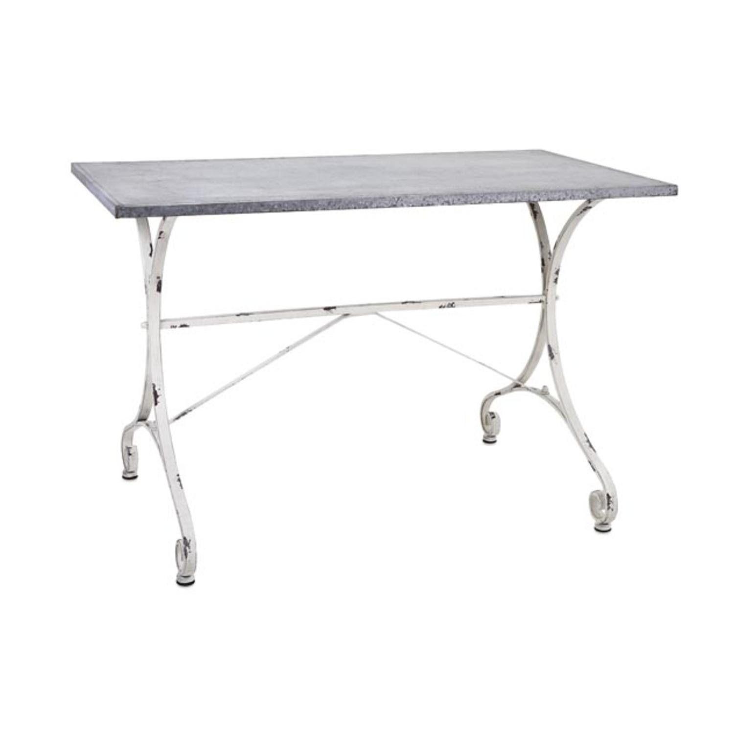 "CC Outdoor Living 44"" Kathryn Distressed White and Gray G..."
