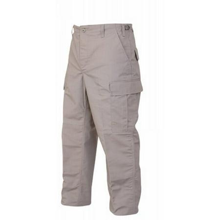 Tru-Spec BDU Trousers Tiger Stripe Green 100% Cotton Rip-Stop, Small Regular