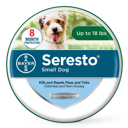 Seresto Flea and Tick Prevention Collar for Small Dogs, 8 Month Flea and Tick Prevention (Ugg For Dogs)