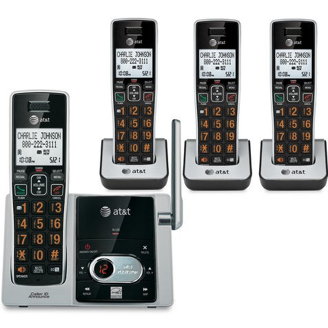 AT CL82413 DECT 6.0 Expandable Cordless Phones System wit...