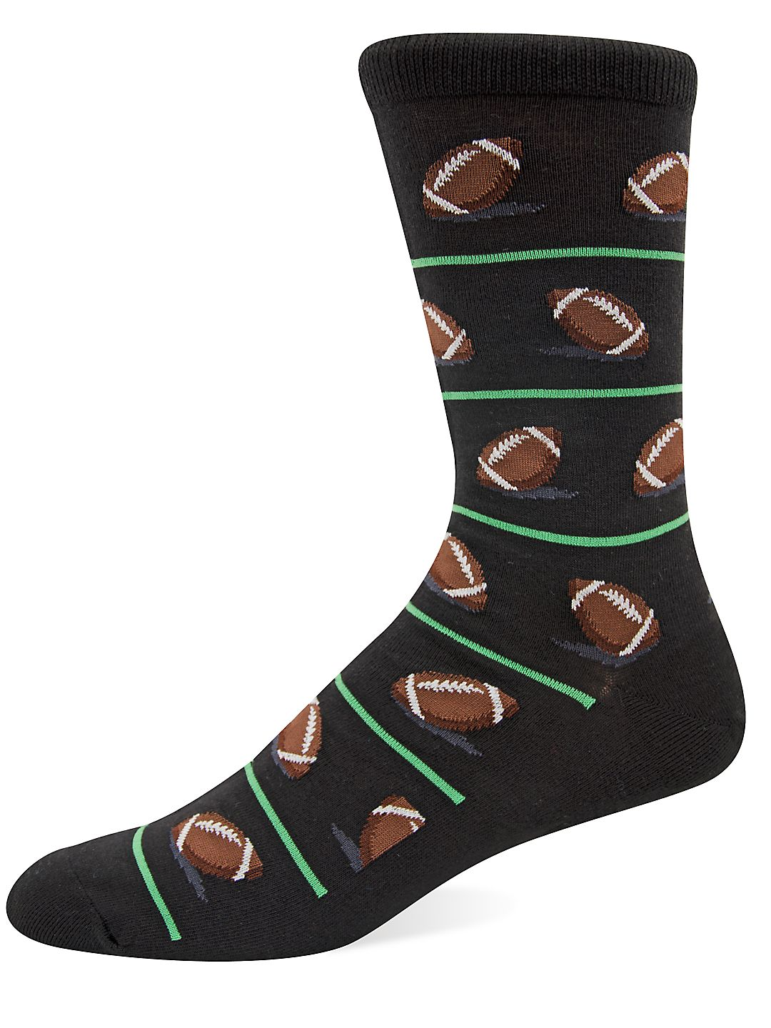 Football Knit Socks