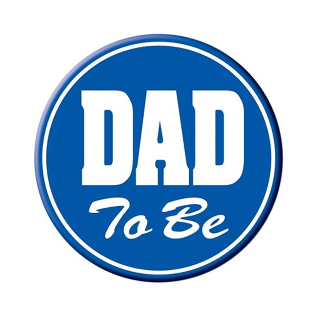 Beistle 60459 Dad To Be Button Party Decorations Pack of 12