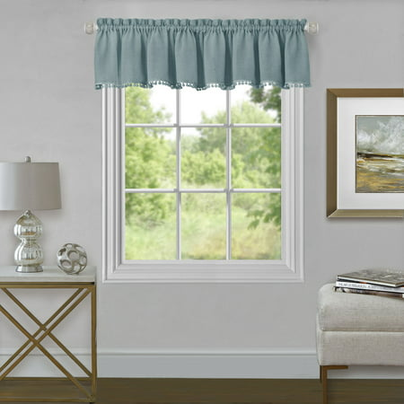 Wallace Window Curtain Valance 52x14 State Printed Curtain Valance