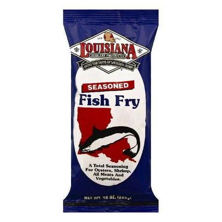Louisiana fish fry products seasoned fish fry, 10 oz (pack of 12)