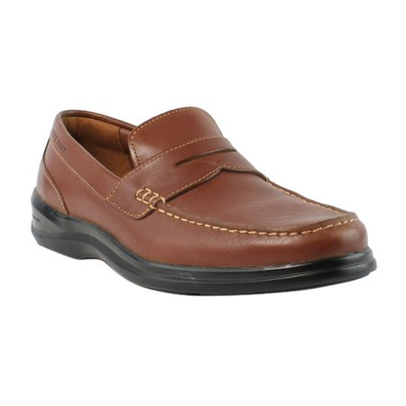 Cole Haan Mens C25478-215 Brown Loafers   Slip Ons Dress Shoes Size ... 772e50089f5