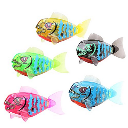 New Cute Robofish Activated Battery Powered Robo Fish Toy Childen